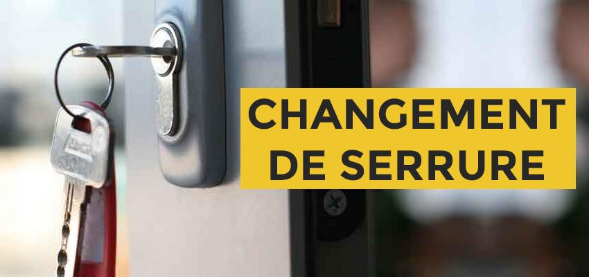 Changement de serrure Paris